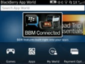 Image Gallery: App World 3.0 home screen