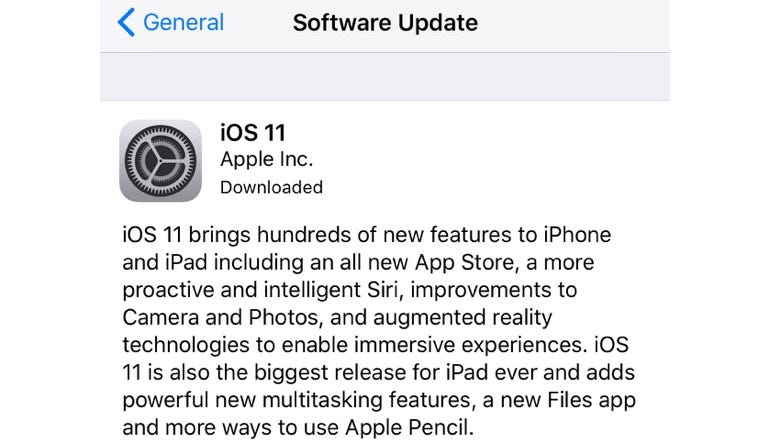 Here's how you can download iOS 11 to your iPhone, iPad or iPod touch today