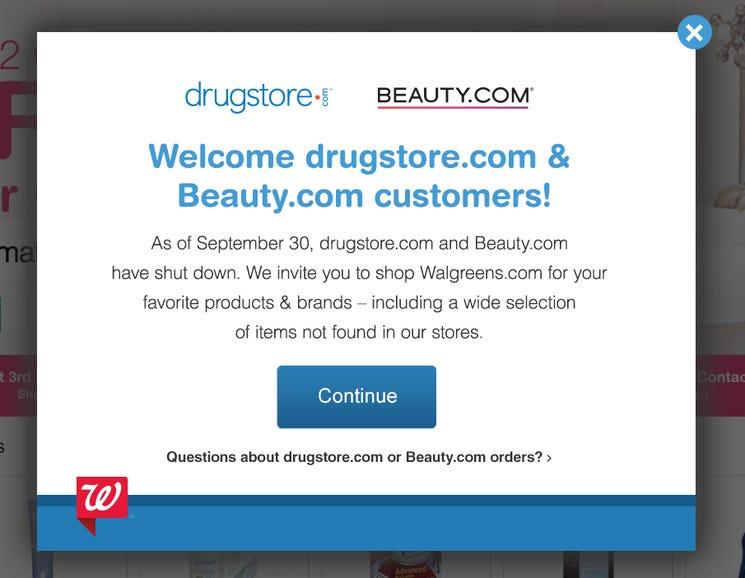 The Drugstore.com disaster