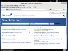 Firefox 4 in Fedora 15 worked just fine.