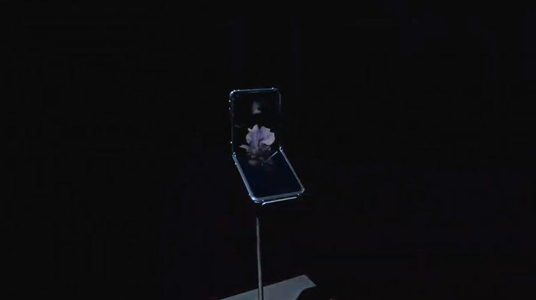 It's a foldable clamshell phone.