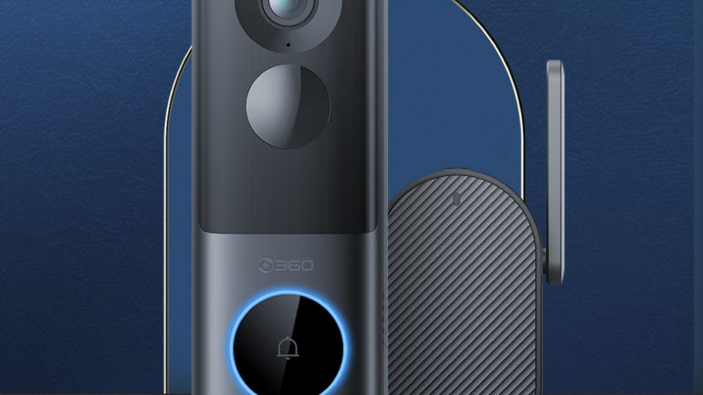 360 X3 video doorbell zoned protection at a lower cost than Ring zdnet