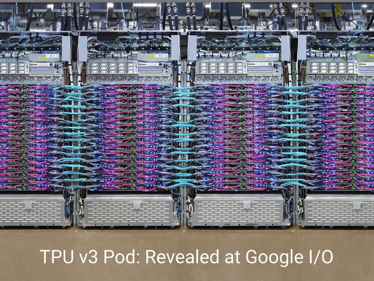 Google says 'exponential' growth of AI is changing nature of compute | ZDNet