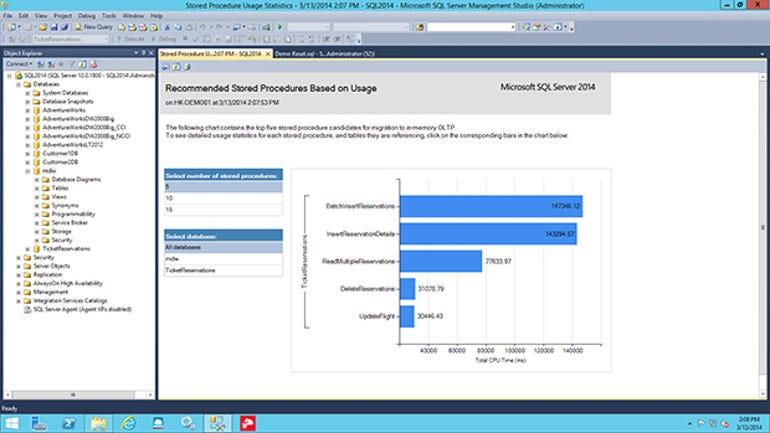 sql-server-2014-storedprocedureinmemory