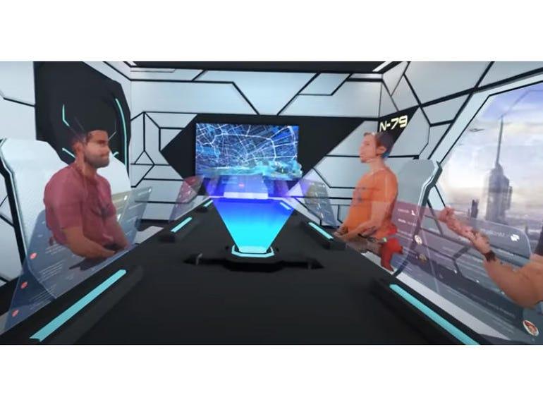 Imverse Live3D rendering engine and volumetric holograms