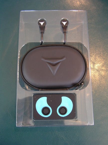 Carrying case and earbuds