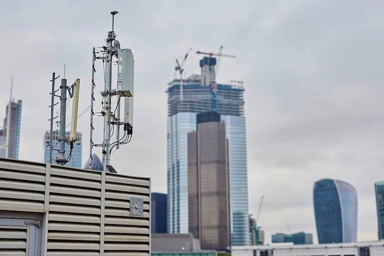 5G in the city