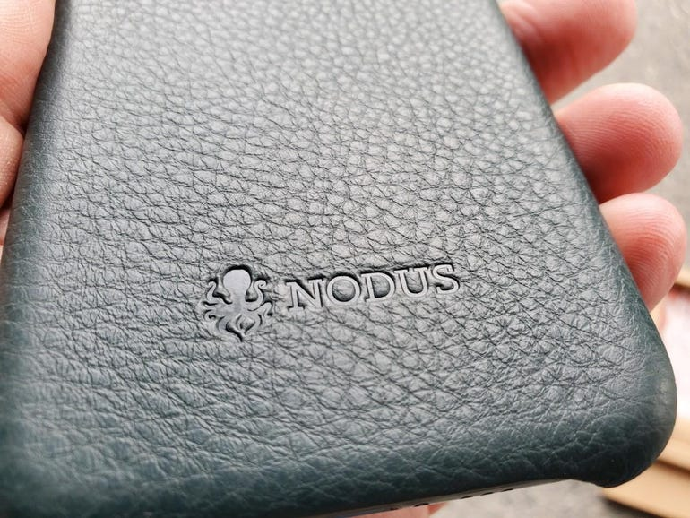 Nodus name and logo stamped on the back