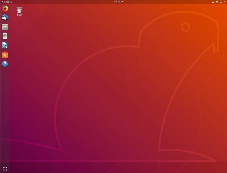 We're starting with Ubuntu