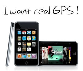 iPod touch with GPS?