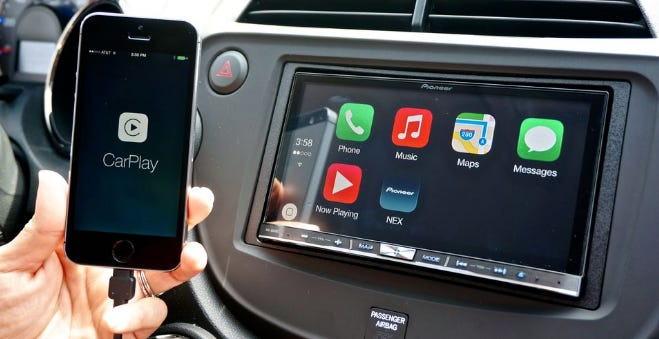 Add Apple CarPlay or Android Auto