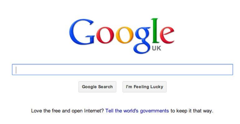 Googles free open internet campaign un conference dubai