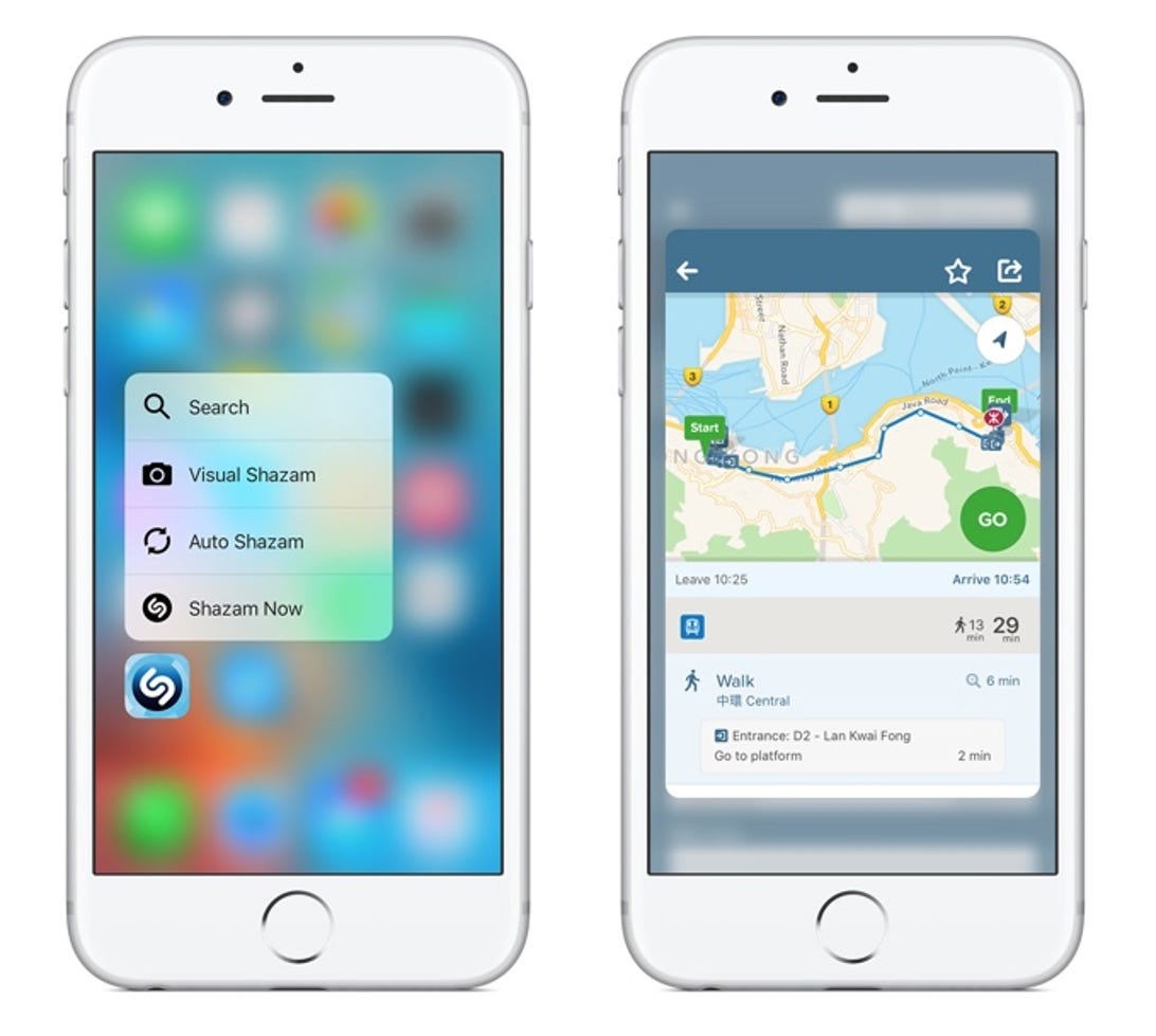 #4: Either make 3D Touch clearer, or dump it