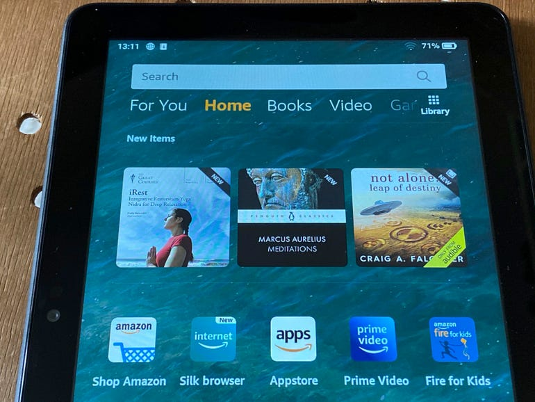 The new Amazon Fire HD 8 (2020)