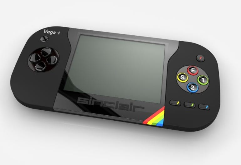 Sinclair ZX Spectrum Vega+ console with 1000 retro games smashes crowdfunding target ZDNet
