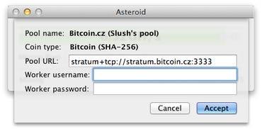 asteroid bitcoin miner bitcoin mining ca un loc de muncă
