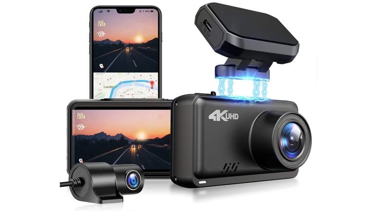 Jomise dual dash cam review: 4k cam with built in GPS zdnet