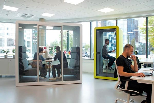 Why your next office could be a soundproof pod