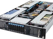 Gigabyte's new 2U server offers support for eight double-slot cards