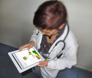 A look at IBM's Clinical Genomics system. Credit: IBM