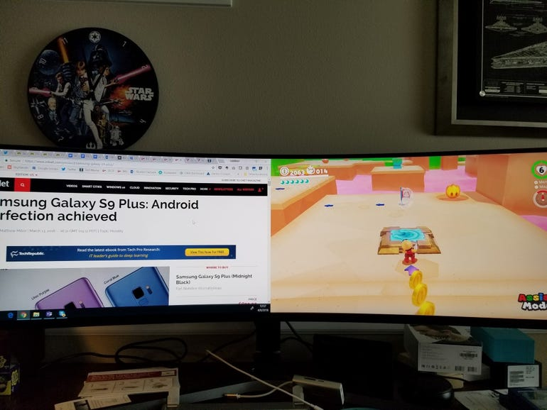 Surface Pro 4 and Nintendo Switch output