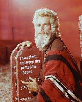 The Open Source Commandments