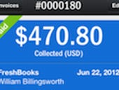 FreshBooks iOS app offers 'at-a-glance view' for SMB accounting