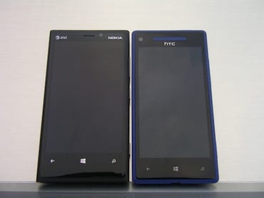 Nokia Lumia 920 or HTC Windows Phone 8X; a purchase made with the head or heart