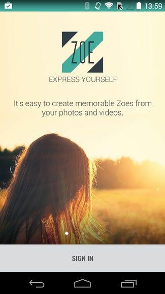 Launching HTC Zoe on a Moto X