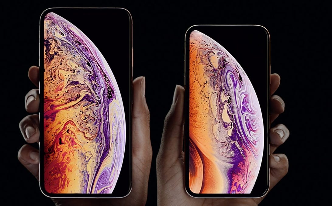 The iPhone XS and iPhone XS Max