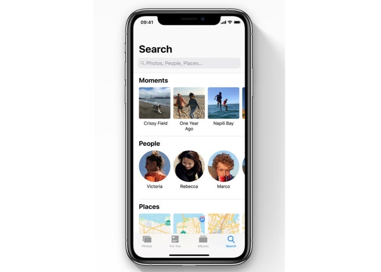Improved photo search