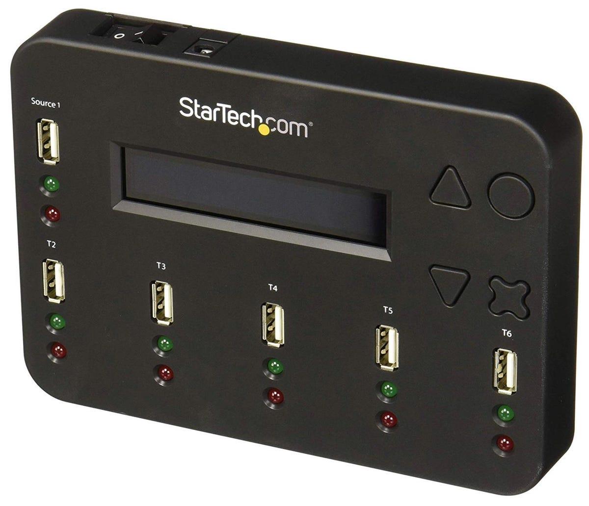 StarTech 1:5 USB flash drive duplicator and eraser