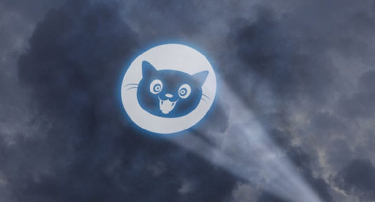 Internet Defense League cat sign