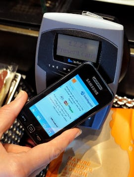 Customers with a Quick Tap-enabled mobile will be able to pay for their Starbucks purchase using their mobile from spring 2012