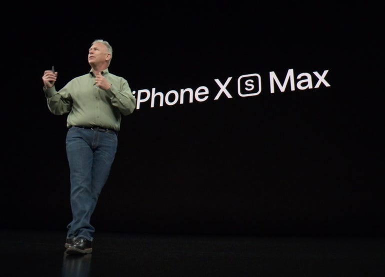 The name is official - iPhone XS Max