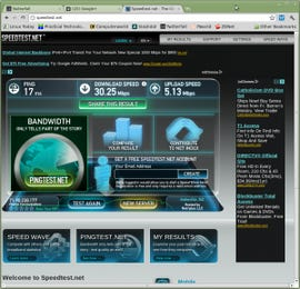 How to check your Internet with Speedtest