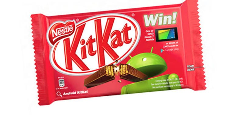 Android KitKat packaging