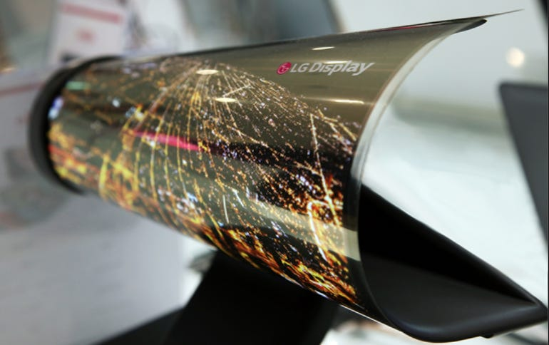 LG's rollable display