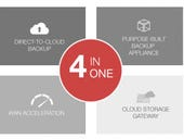 Infrascale Cloud Backup Accelerator sees the cloud, not the appliance, as the focus