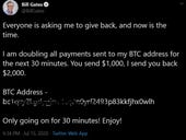 Twitter accounts of Elon Musk, Bill Gates and others hijacked to promote crypto scam