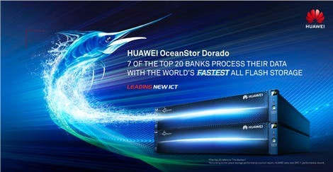 Huawei flash storage