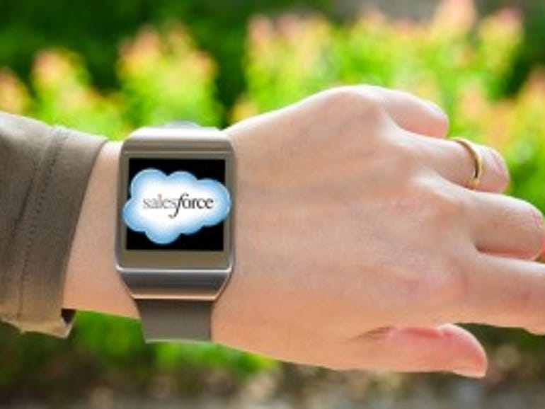 Salesforce continues to drive wearable innovations | ZDNet