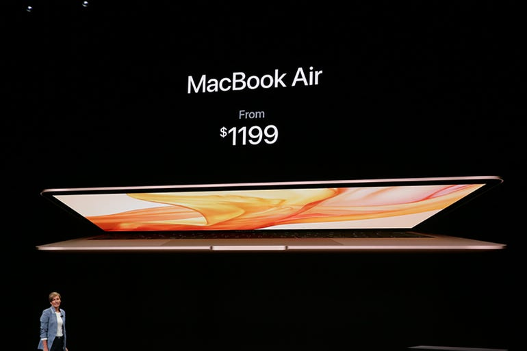 Macs: MacBook Air pricing and availability