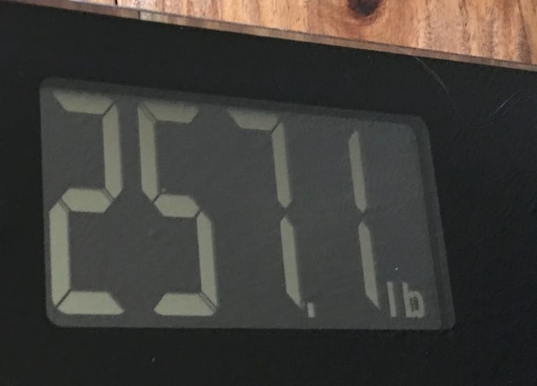 Clear weight view