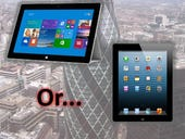 Is productivity in the workplace possible with Surface 2 or iPad?