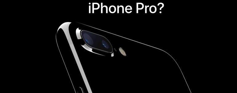 """Is Apple's """"next big thing"""" the iPhone Pro?"""