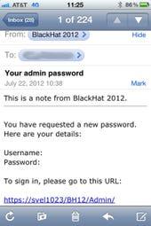 Black Hat explains fake password reset e-mail sent to 7,500
