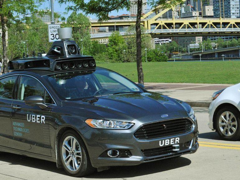Self-driving car strikes pedestrian