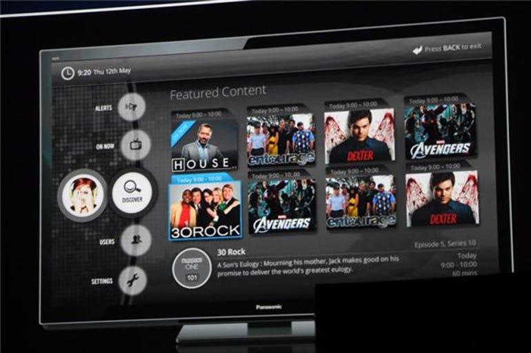 Panasonic TV UI