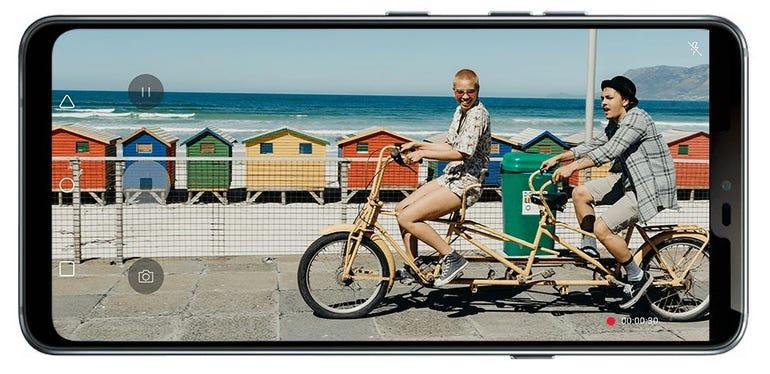 LG G7 Vivid Screen